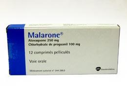 Malerone, Malaria