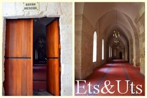 Las mujeres tienen prohibida la entrada en la mezquita y rezan en un edificio aparte