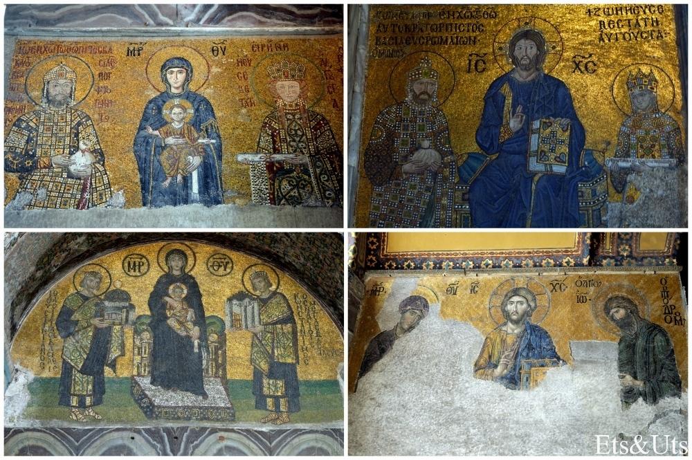 Mosaicos de Aya Sofia