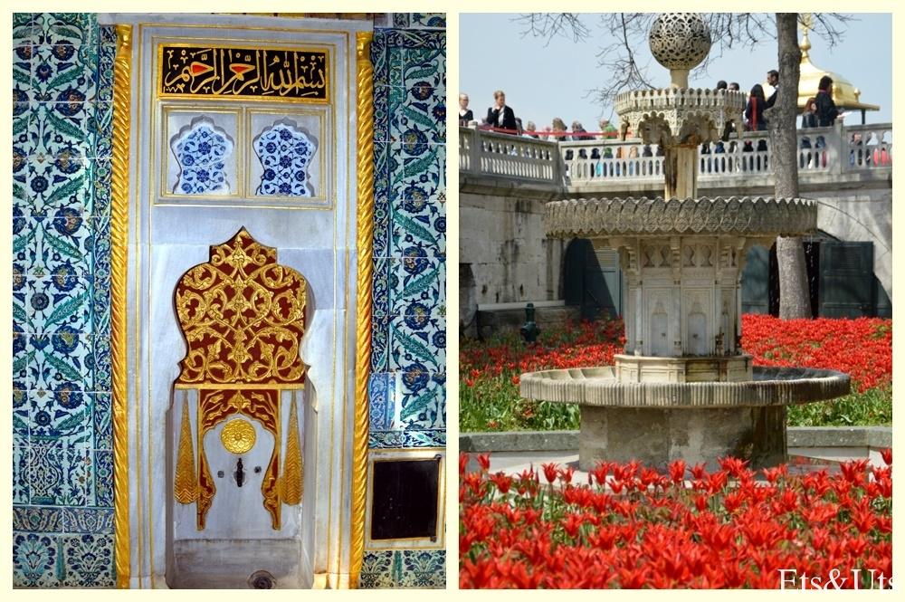 Fuente del Haren y exterior del palacio