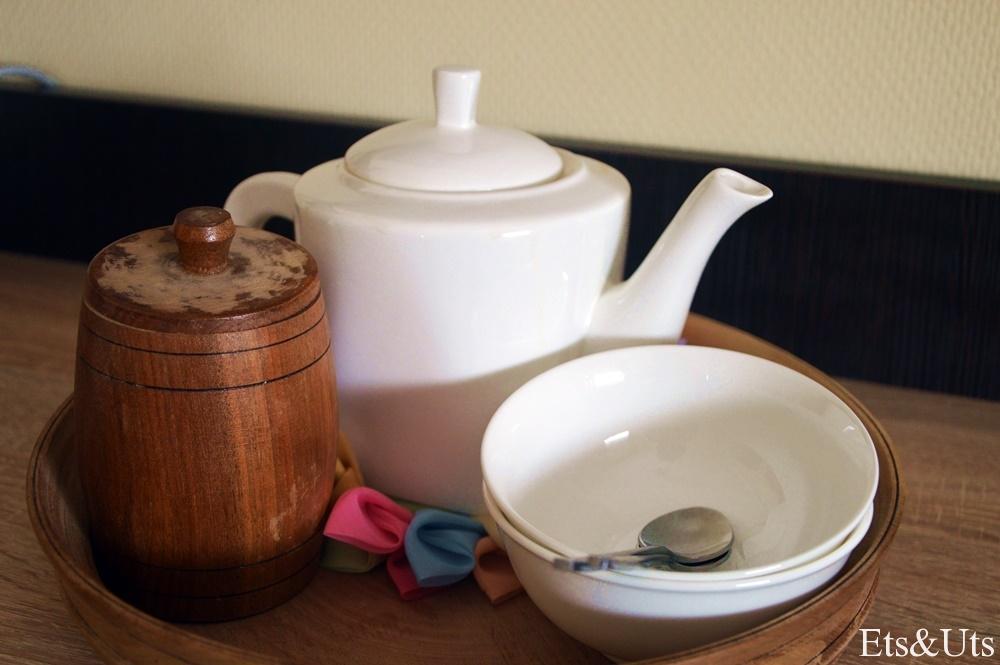 Detalles que nos conquistan... Té y café gratis 24h!
