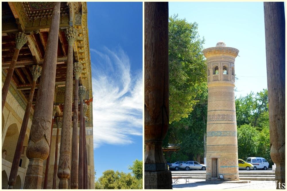 Mezquita Bolo Hauz y su Minaret