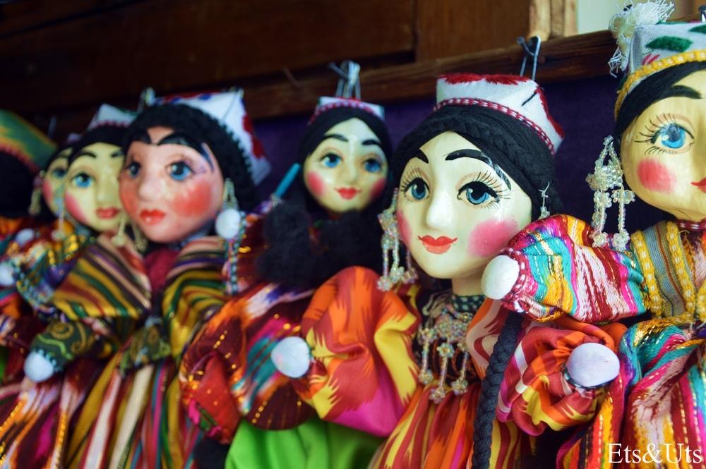 Marionetas en venta en los bazares
