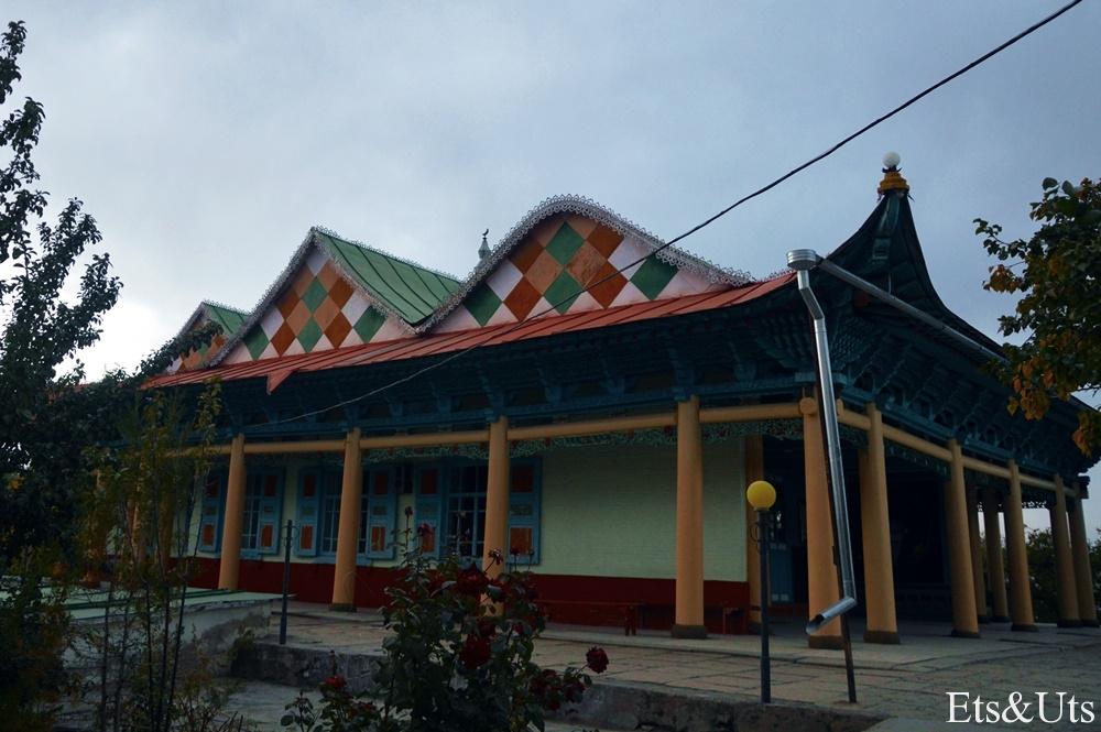 Mezquita, Karakol, Kirguistan