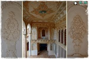 La sala de mujeres, decorada con mucho gusto