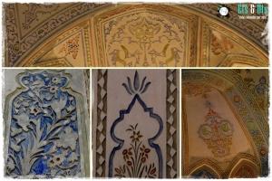 Mosaicos y detalles por todo el espacio
