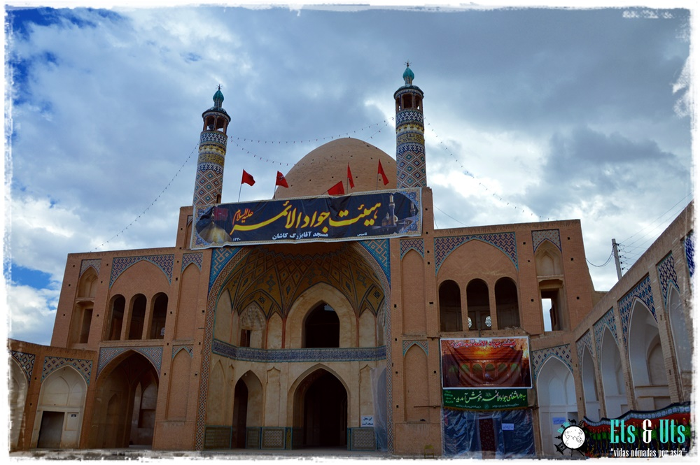 Mezquita, Kashan, Iran