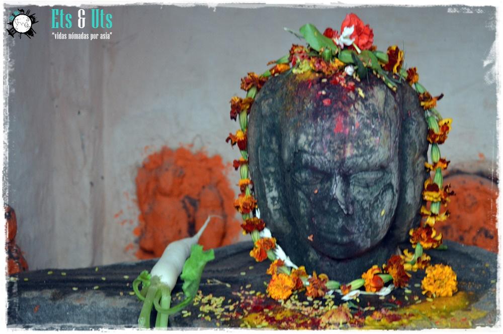 Altar en Varanasi, India