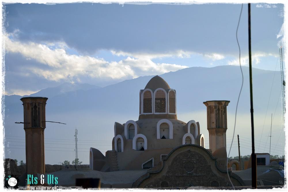 Palacio, Kashan, Iran
