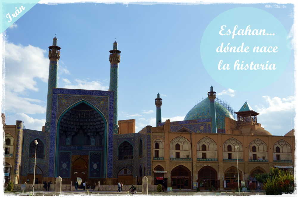 Mezquita del Viernes, Isfahan, Iran