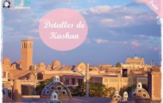 Vistas de Kashan desde el hammam