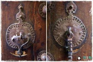 Y sus clásicas puertas... las que dan fama a la ciudad