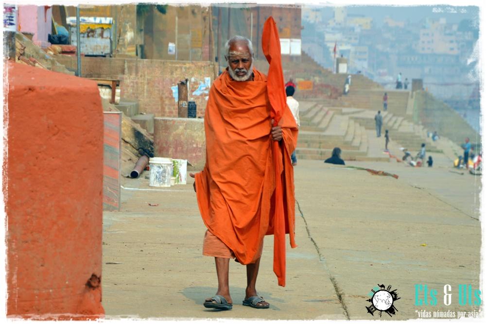Saddhu en Varanasi, India