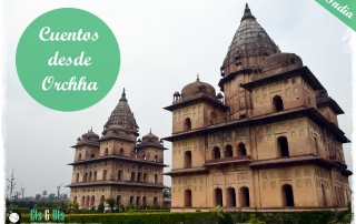 Cenotaph Templos de Orchha India
