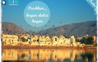 lago sagrado de pushkar, india
